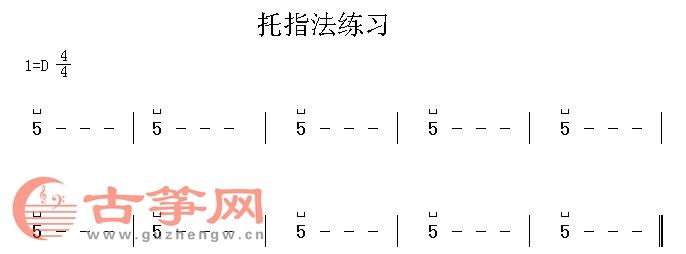 第一课:古筝基本构造,学戴指甲