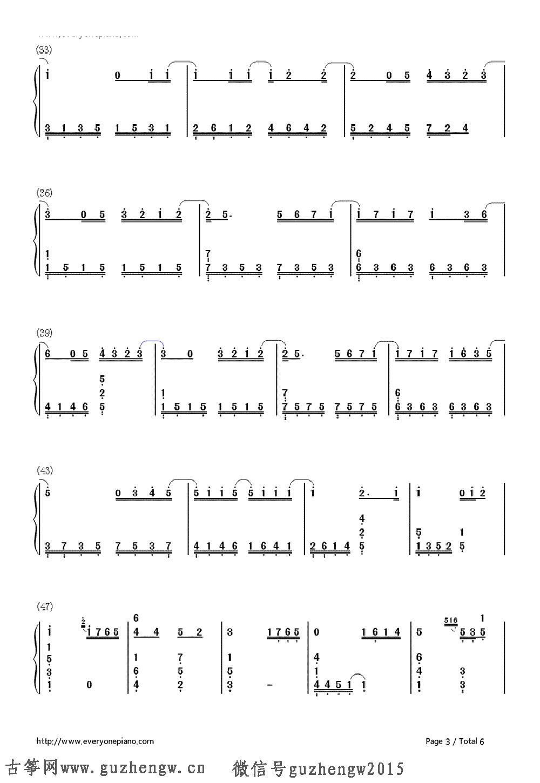 第一次钢琴简谱左右手