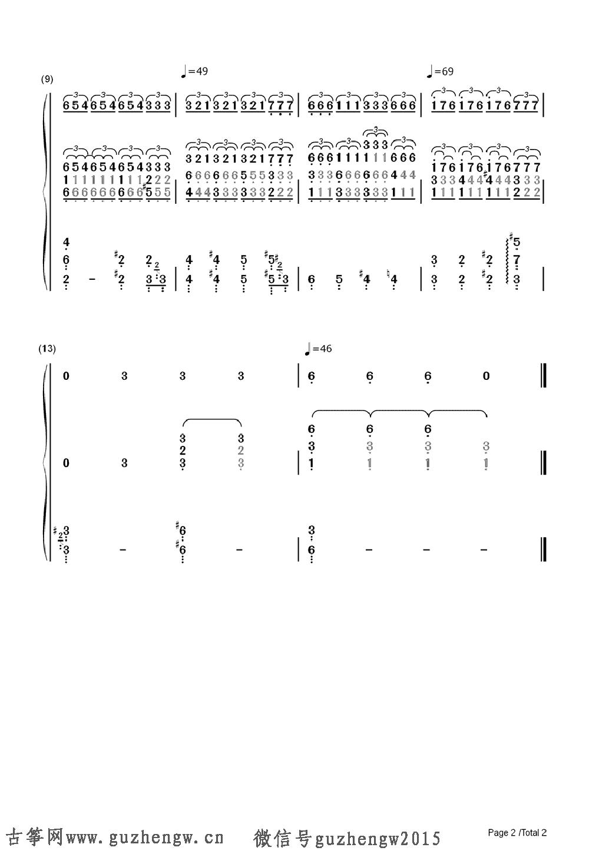 本曲谱为钢琴谱需要根据底部文章思路自行改编为古筝谱,仅供古筝爱好者参考,欢迎广大爱好者提供古筝谱! 黑色的星期天,也译作《忧郁的星期天》,传说是匈牙利自学成才的作曲家鲁兰斯bull;查理斯(Rezs艖 Seress)谱写于1933年的一支歌曲。歌曲原名为《Veacute;ge a Vilaacute;gnak(世界末日)》,以乐谱的形式发行,随后歌词改用诗人Laacute;szloacute; Jaacute;vor的版本,歌曲则于1935年在匈牙利以 《Szomoruacute; Vasaacute;r